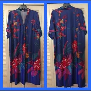 Other - Retro Housecoat Lounger Robe 3x